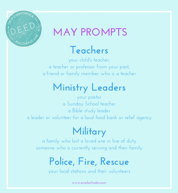 may deed prompts