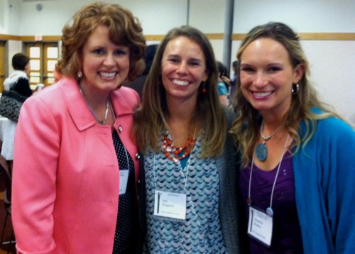 Cindy Bultema, Jen Ferguson, and me at the Speak Up Conference.