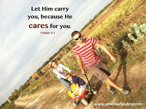 When your burdens are too heavy to carry