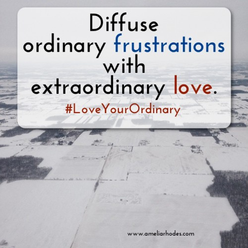 Love Your Ordinary: Frustrations