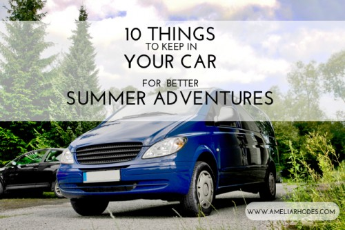 Ten things to keep in your car for summer adventures