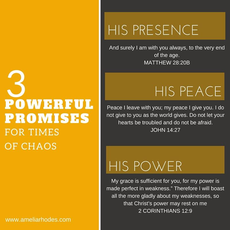 3 powerful promises