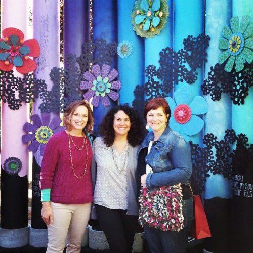 Me, Julie Cantrell, Susie Finkbeiner at Art Prize