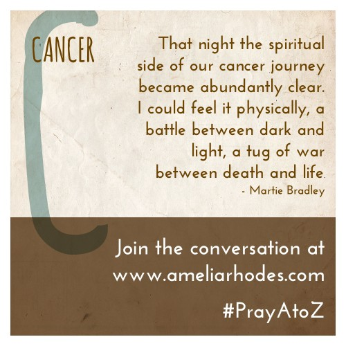 "a cancer patients prayer Are you battling cancer and searching for support and help god is with you and has the power to heal you from the inside out the bible tells us, ""the earnest prayer of a righteous person has great power and produces wonderful results"" (james 5:16."