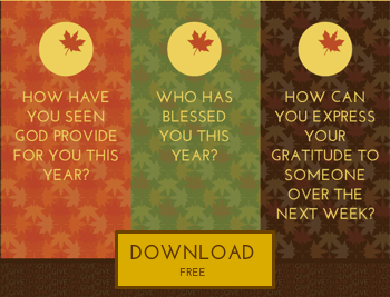 3 Ways to Get Your Gratitude Going {free printable}