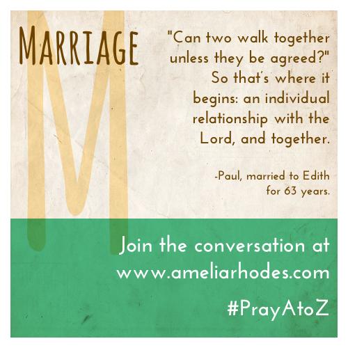 Pray A to Z: Marriage