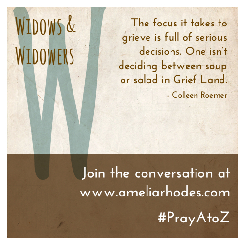 Pray A to Z: Widows