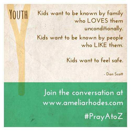 Pray A to Z: Youth