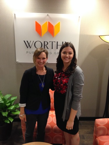 with Leeann from Worthy Publishing