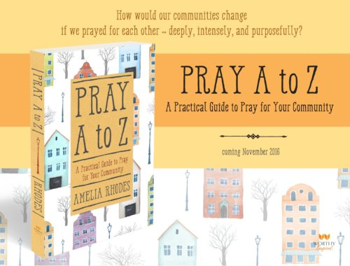 What would happen if we truly prayed for each other?
