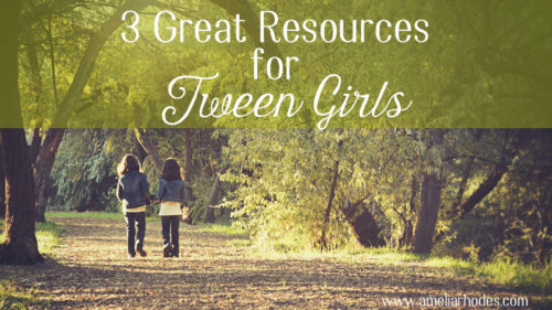 3 Great Resources for Tween Girls {3 Giveaways too!}