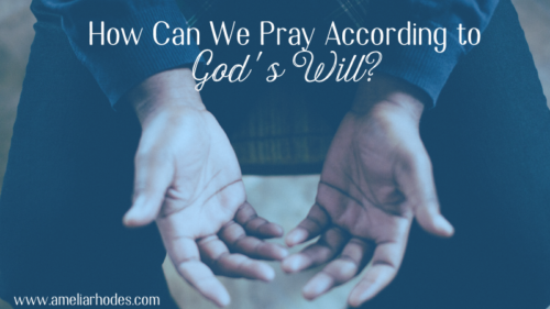 How can we pray according to God's will?