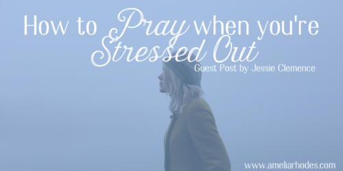 How to Pray When You're Stressed Out {plus a giveaway!}