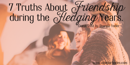 7 Truths about Friendship During the Fledging Years {Giveaway!}
